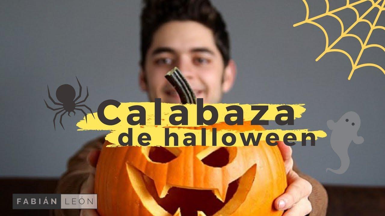 C mo hacer una calabaza para halloween youtube - Como hacer calabaza halloween ...