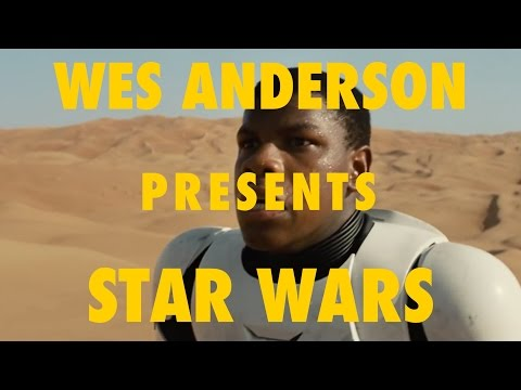 Wes Anderson Presents: Star Wars Force Awakens Trailer