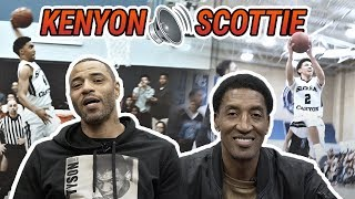 What It's Like To Have An NBA Legend As Your Dad! Scottie Pippen & Kenyon Martin On Their Sons 🔥