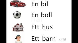 Swedish With Axel - Lesson 1 - Basics