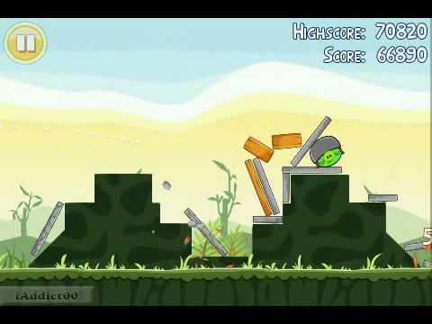 Angry Birds (Level 2-21) 3 Stars      - YouTube