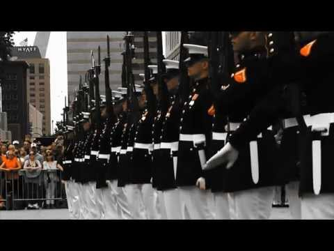 Marine Week Seattle: Silent Drill Platoon