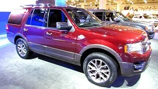 2015 Ford Expedition King Ranch Exterior And Interior