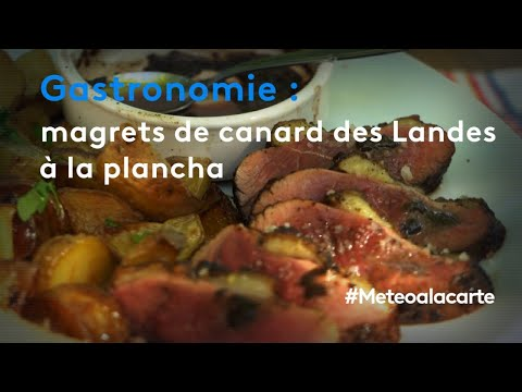 Gastronomie : magrets de canard des Landes à la plancha