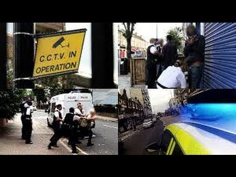 Stop and search: police battle for control of London's streets