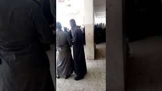"""تجمع كبير من المواطنين أمام لجان """"عرب"""