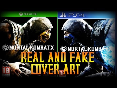 Mortal Kombat X: Real and Fake Cover Art!