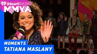 DNCE and Orphan Black's Tatiana Maslany Announce Imagine Dragons | 2017 iHeartRadio MMVAs