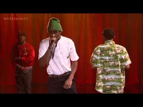 Tyler, The Creator - Rusty [Live On Letterman] With Domo And Earl