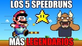Los 5 Speedruns más Legendarios en Videojuegos