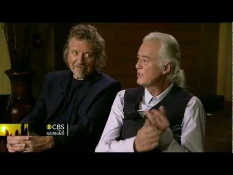 LED ZEPPELIN interview ( Charlie Rose CBS This Mourning 12/21/12 )
