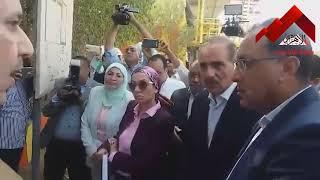 """مدبولي يتفقد محطة صرف صحي """"إسكندرية"""