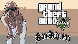 GTA V Easter Egg Mulher Do GTA San Andreas