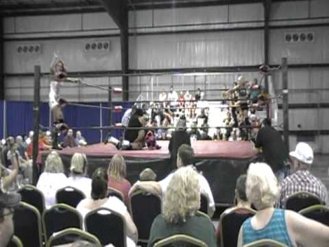 Kacee Carlisle & Brittany Force vs. Angel Dust & Mia Yim