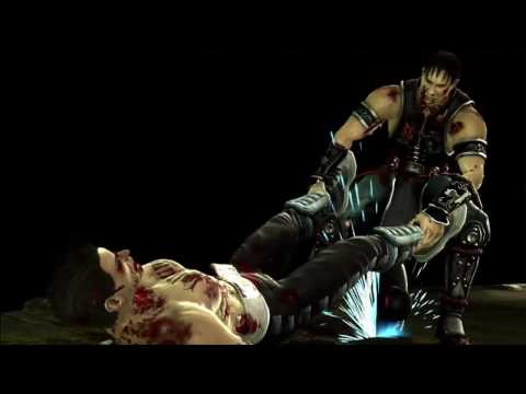 Mortal Kombat 9 - Kung Lao's Buzzsaw Fatality
