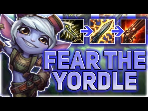 FEAR THE YORDLE !! TRISTANA ADC GUIDE  - BEST ADCS IN PATCH 7.13 (HOW TO CS, LANE, AND CARRY)