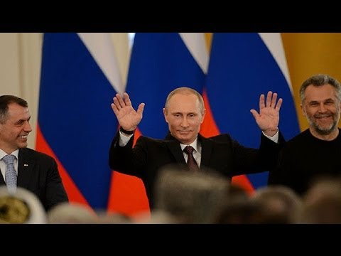 Vladimir Putin signs treaty to incorporate Crimea into Russia