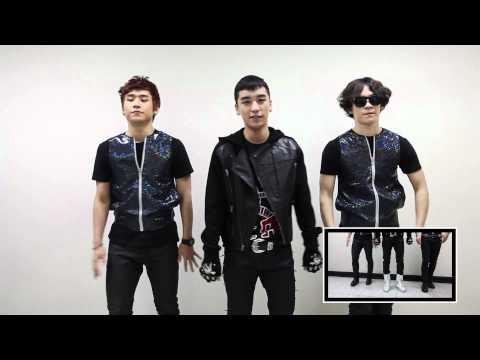 BIGBANG - BAD BOY Choreography Point (by Seungri)