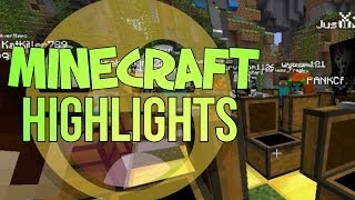 MINECRAFT HIGHLIGHTS! Funny & Fail Moments :D w/ Buds