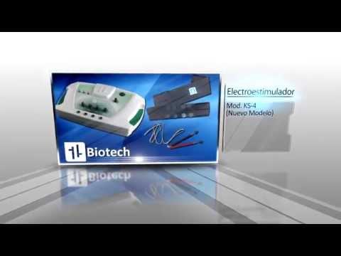 Electroestimulador Biotech 8 electrodos, ondas rusas