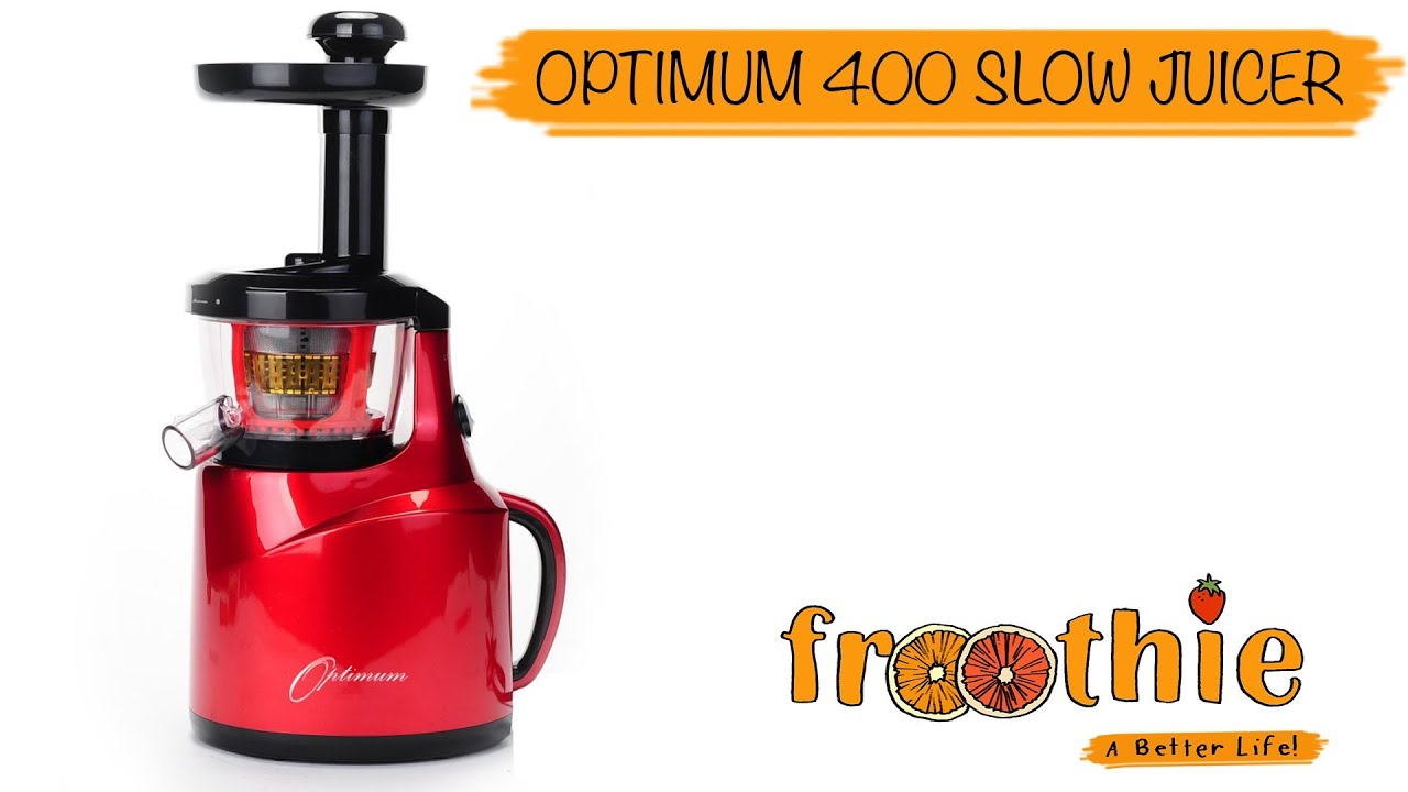 Getting to know your Optimum 400 Slow Juicer with Zane - YouTube