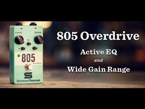 Seymour Duncan Pedals 805 Overdrive Guitar Effects Pedal