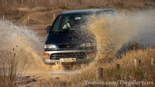 Mitsubishi Space Gear 4x4 Mud Burnouts