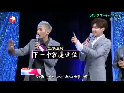 140504 EXO M - Entertainment Star World (Turkish sub.) Türkçe Altyazılı