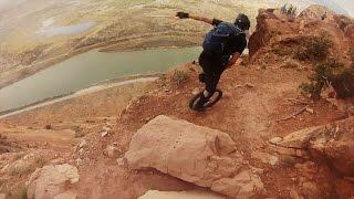 Downhill dengan satu roda