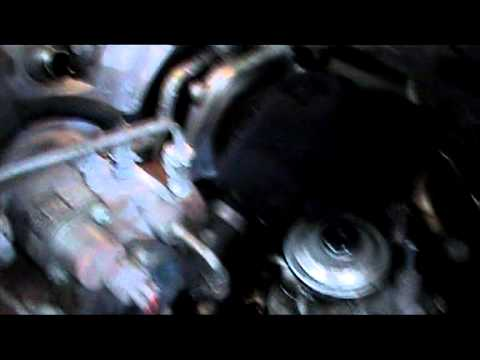 TOYOTA AVENSIS D4D FUEL FILTER CHANGE PT2.mpg