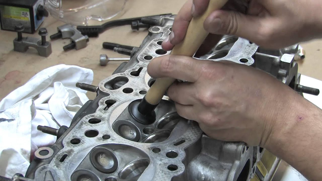 cylinder head 105 valve job basics youtube. Black Bedroom Furniture Sets. Home Design Ideas
