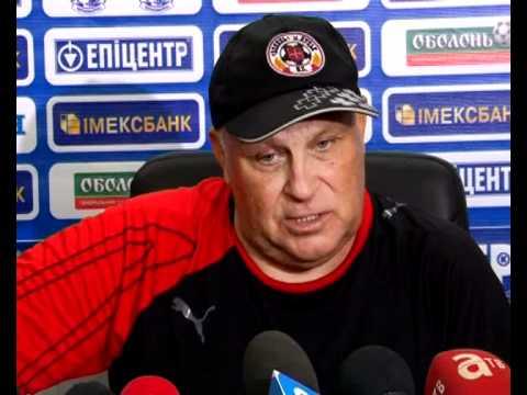 Черноморец-Волынь. Пресс-конференция после матча_21.08.11