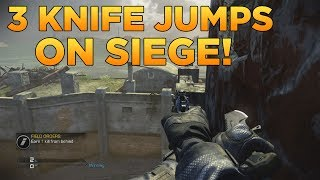 Call Of Duty: Ghosts 3 Knife Jump Spots On Siege! (Out