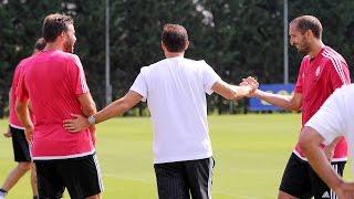 La Juventus torna al lavoro - Juventus back to work