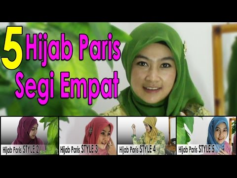 5 Video Cara Memakai Jilbab Segi Empat Modern by #AWMCollection 229