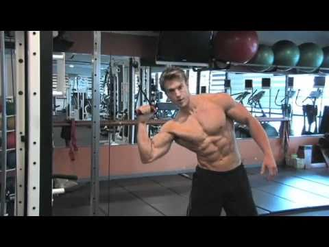 Personal Training Workout Tips with Rob Riches. Part 10: Oblique Curls