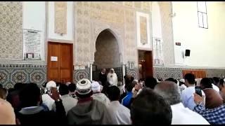 مواطن كندي يشهر إسلامه بمسجد حي السلام بالجديدة |