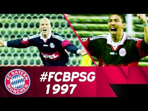Elber, Jancker & Helmer - Bayern beats PSG 5:1 |Champions League 1997/98