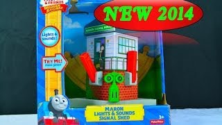 NEW 2014 MARON LIGHTS & SOUNDS SIGNAL SHED A Thomas