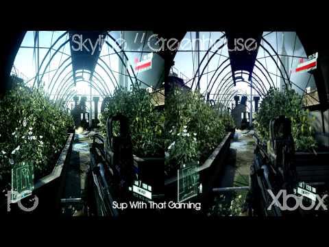 Crysis 2 Demo - PC против Xbox 360