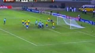 Brazil V Argentina: 2010 South American World Cup