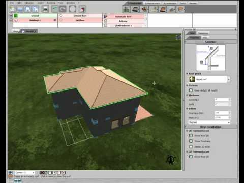 3d home design by livecad tutorials 15 roof youtube