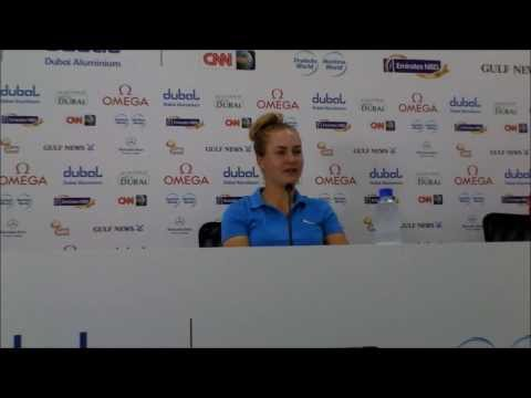 Charley Hull talking about Laura Davies and their friendship and competing against her