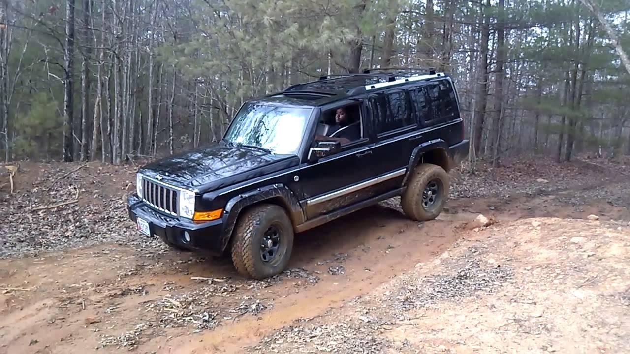 jeep commander off road youtube. Black Bedroom Furniture Sets. Home Design Ideas