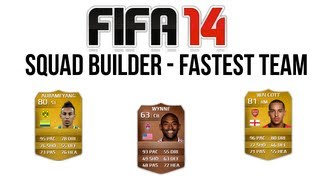 Fifa 14 Ultimate Team Squad Building Schnellstes Team