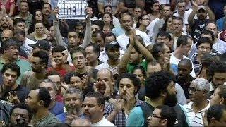 اضرابات تهدد انطلاق مونديال البرازيل | قنوات أخرى