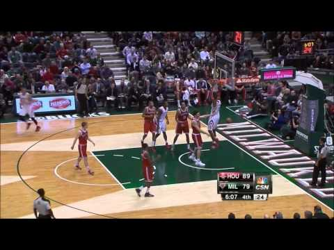 Jeremy Lin sweet alley-oop to Dwight Howard