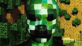 Creeper Minecraft Makeup Tutorial!