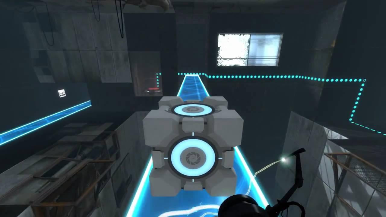 portal 2 chapter 3 level 3 youtube. Black Bedroom Furniture Sets. Home Design Ideas