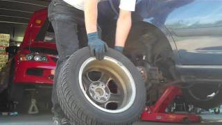 How To Get A Wheel Off The Hub Once The Lug Nuts Are
